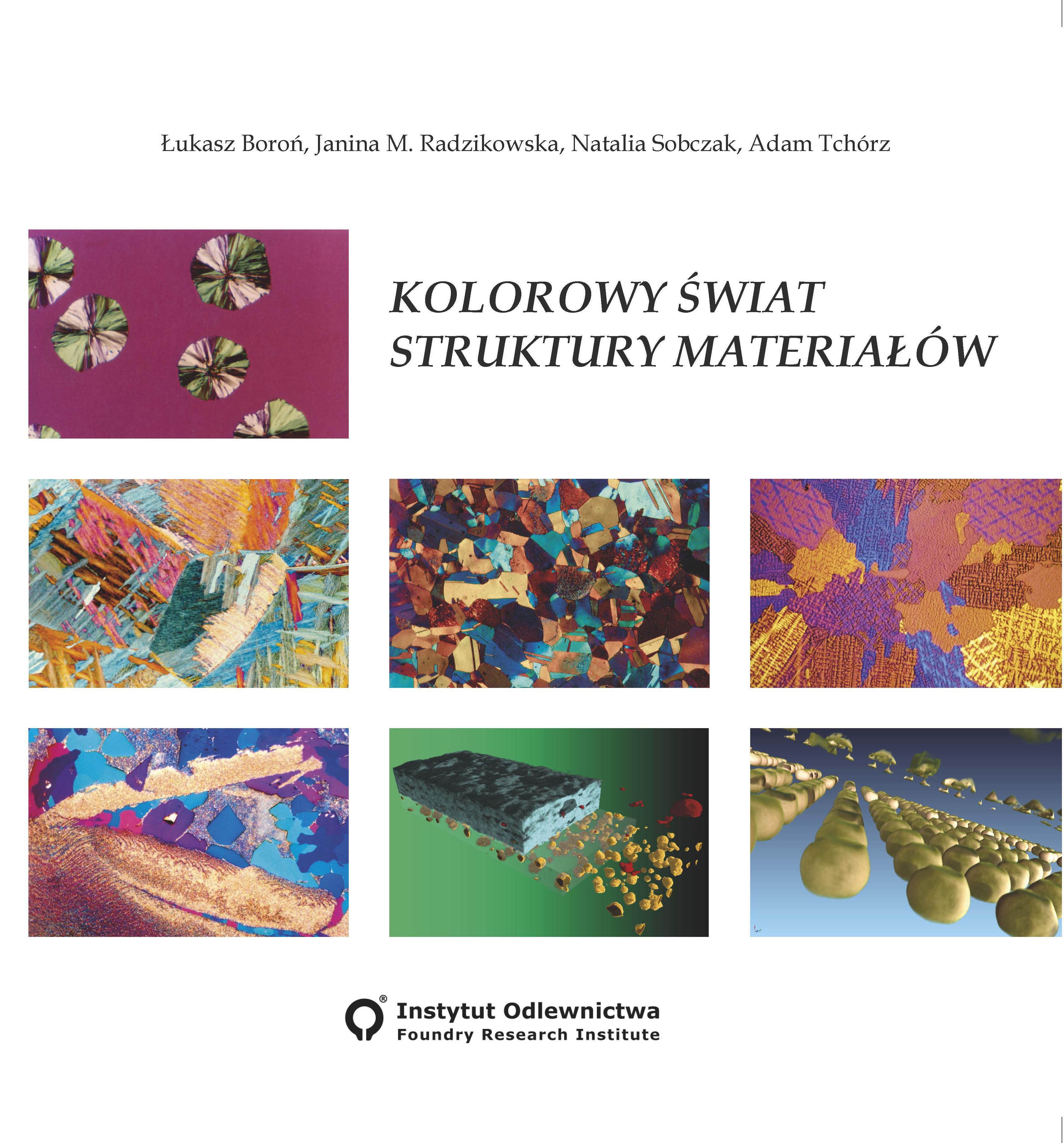 Kolorowy świat struktury materiałów